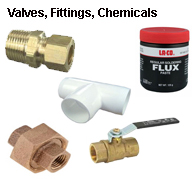 Valves, Fittings, Chemicals